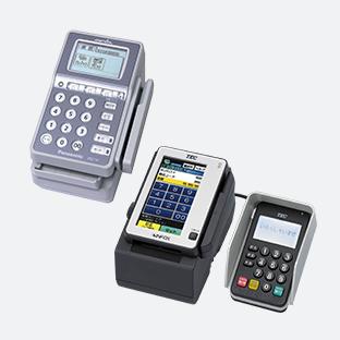 店舗向けクレジットカード決済アイコン 店舗向けクレジットカード決済端末 店舗向けの据え置型クレジ